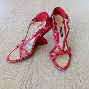 Giorgio Armani wedge heels